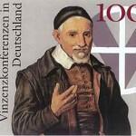 Briefmarke Vinzenkonferenzen in Deutschland