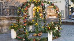 Stiftung-Vinzentinische-Caritas Spenden Erntekrone in Bamberg